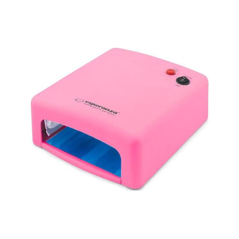 Φουρνάκι Νυχιών με 4 Λάμπες UV LED 36 W Esperanza EBN001P - EBN001P