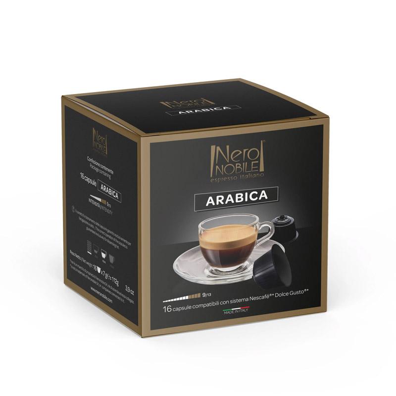 Κάψουλες Καφέ Neronobile Arabica - DG-NER Arabica
