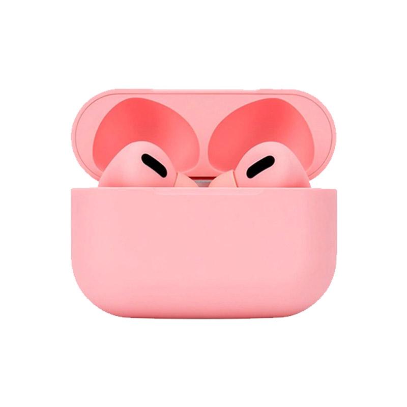 Ασύρματα Ακουστικά Bluetooth με Βάση Φόρτισης TWS Χρώματος Ροζ SPM Airpro3-Pink
