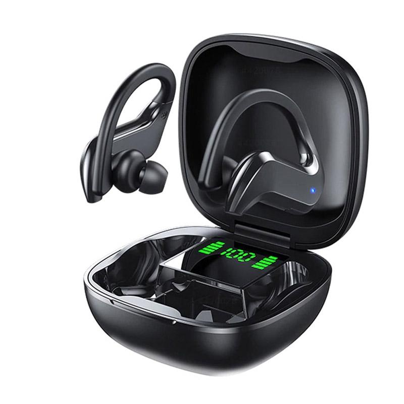Ασύρματα Ακουστικά Bluetooth με Βάση Φόρτισης Sport SPM MD03-Black