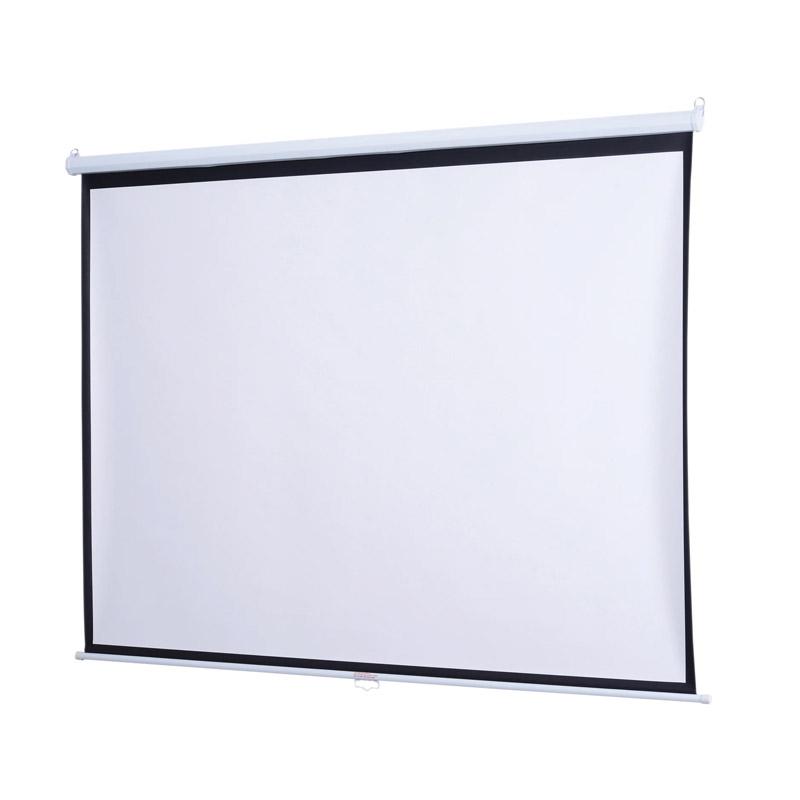 Χειροκίνητη Οθόνη - Πανί Προβολής 244 x 183 cm HOMCOM 001-010V01 - 001-010V01