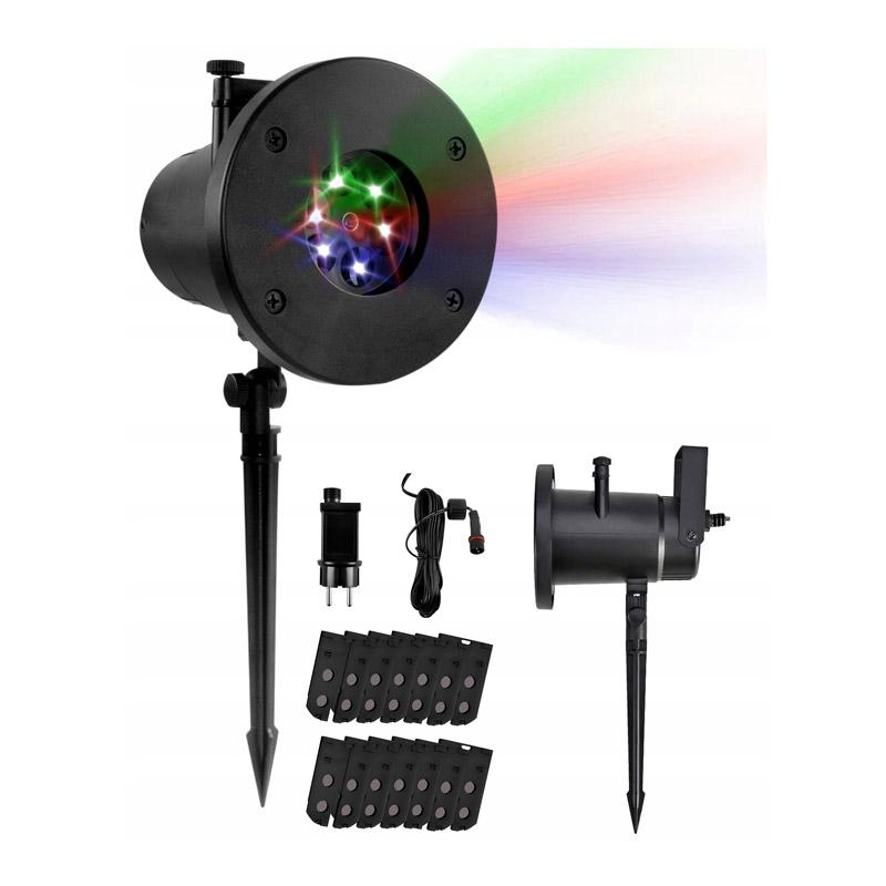 Προβολέας LED με 12 Εφέ Φωτισμού 6 W SPM 9578 - 9578