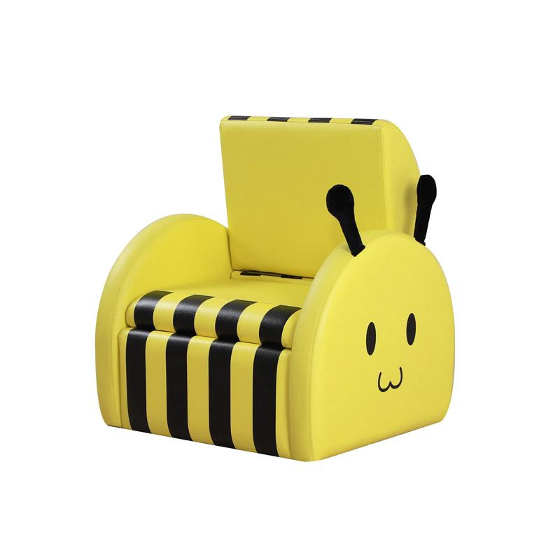 Παιδική Πολυθρόνα Μελισσούλα με Πτυσσόμενη Πλάτη 49 x 44.5 x 36 cm HOMOCOM 310-030 - HOMCOM 310-030
