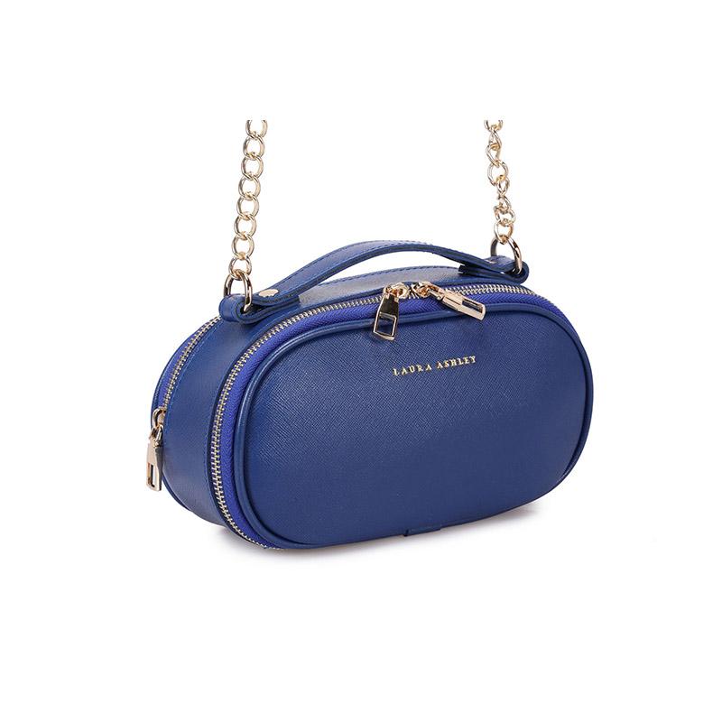 Γυναικεία Τσάντα Ώμου με Αλυσίδα Χρώματος Μπλε Laura Ashley Lyle 651LAS1824 - 651LAS1824