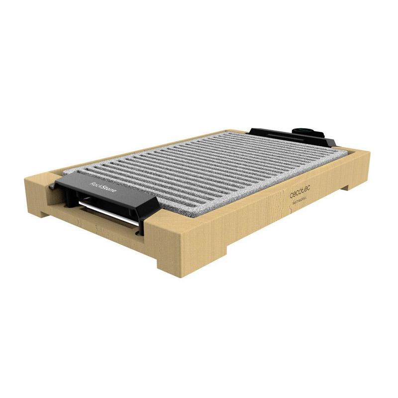 Ηλεκτρική Ψηστιέρα - Γκριλιέρα 2000 W Tasty & Grill 2000 Bamboo LineStone Cecotec CEC-03092 - CEC-03092