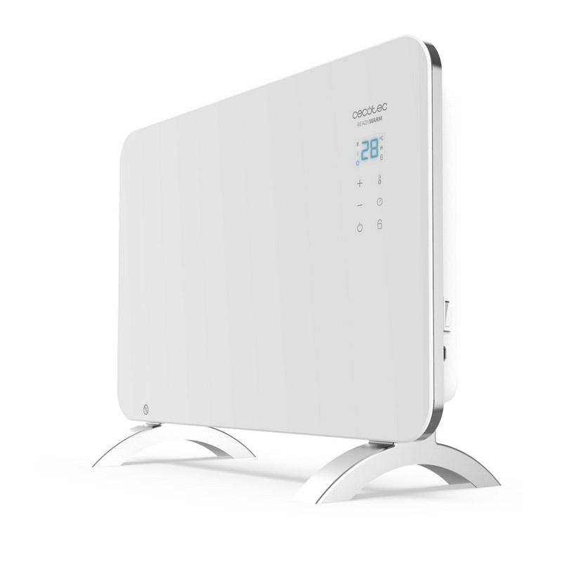 Φορητός Γυάλινος Θερμοπομπός με Wi-Fi 1000 W Χρώματος Λευκό Cecotec Ready Warm 6650 Crystal Connection 24 x 76 x 43 cm CEC-05318 - CEC-05318