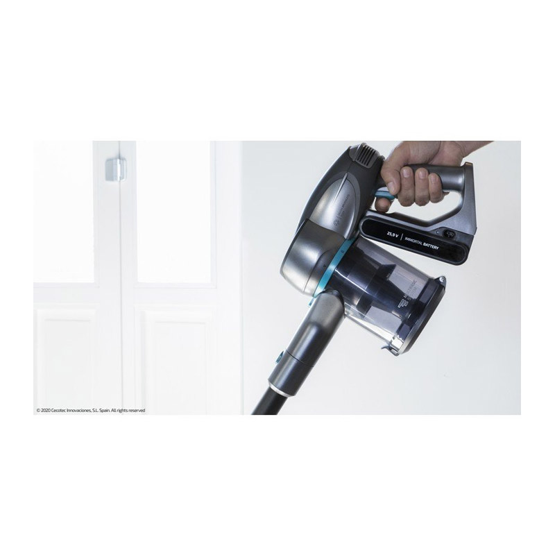 Ηλεκτρική Σκούπα 3 σε 1 Χωρίς Σακούλα Cecotec Conga RockStar 500 X-Treme ErgoFlex CEC-05702 - CEC-05702