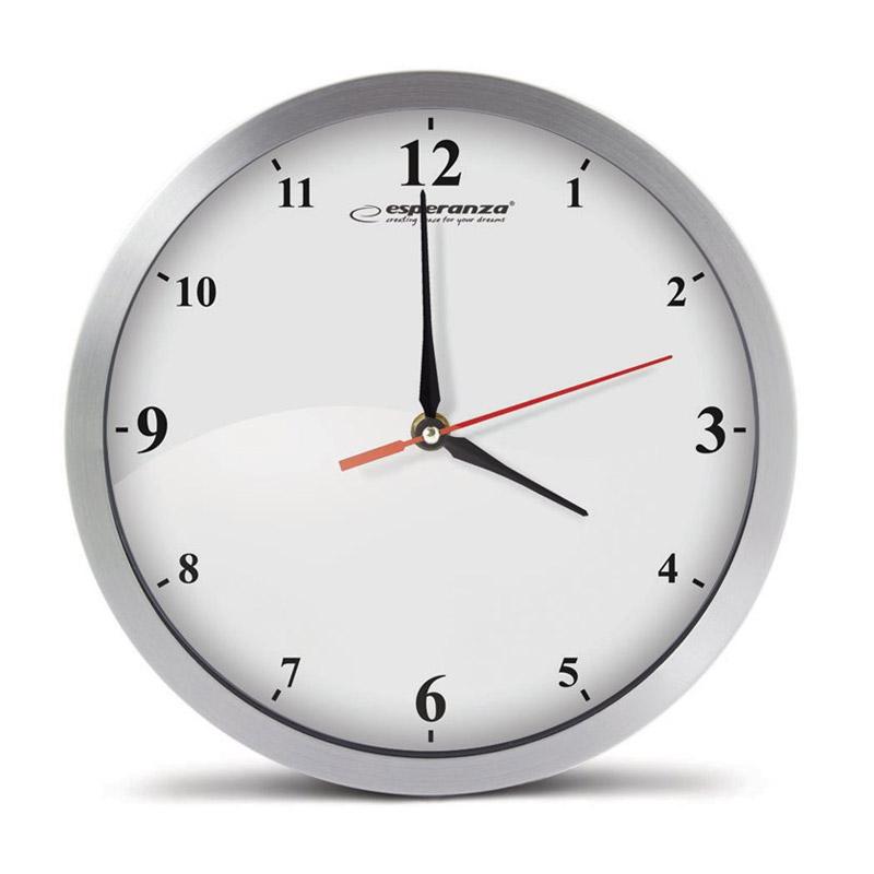 Ρολόι Τοίχου Esperanza Detroit EHC009W - EHC009W