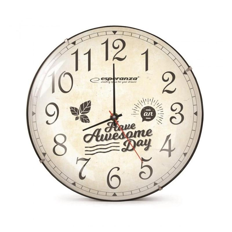 Ρολόι Τοίχου Esperanza Lausanne EHC018L - EHC018L