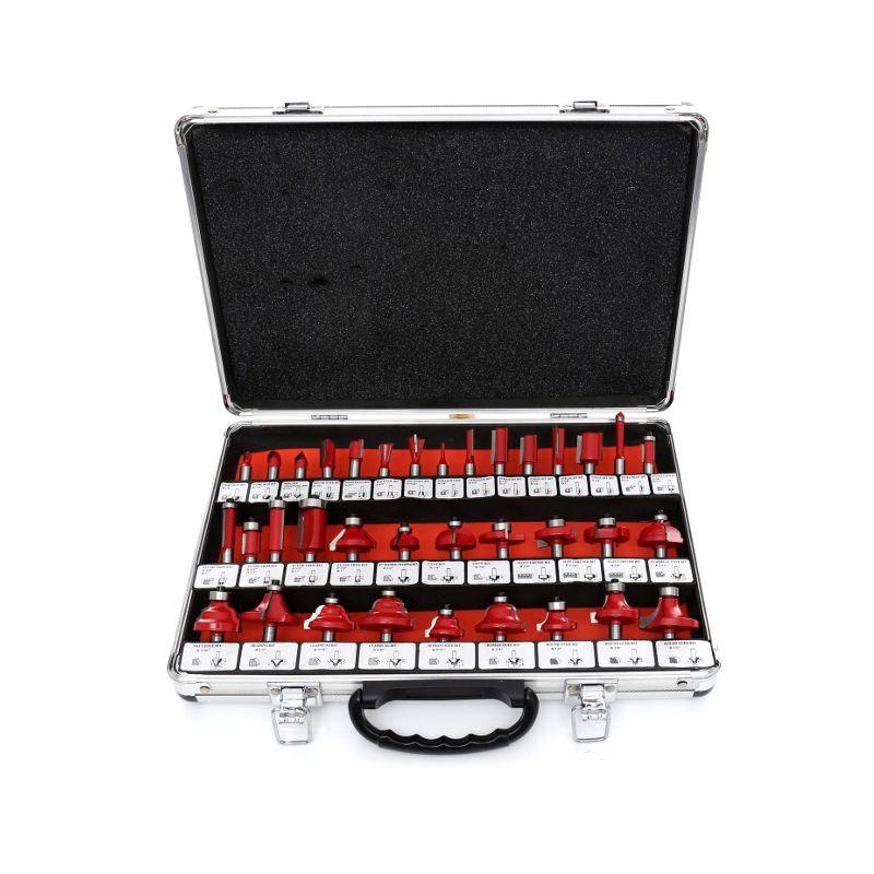 Σετ Φρέζες Ξύλου 35 τμχ Kraft&Dele KD-10280 - KD-10280