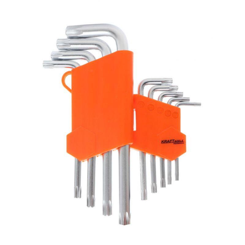Σετ Κλειδιά Torx Hex 9 τμχ Kraft&Dele KD-10295 - KD-10295