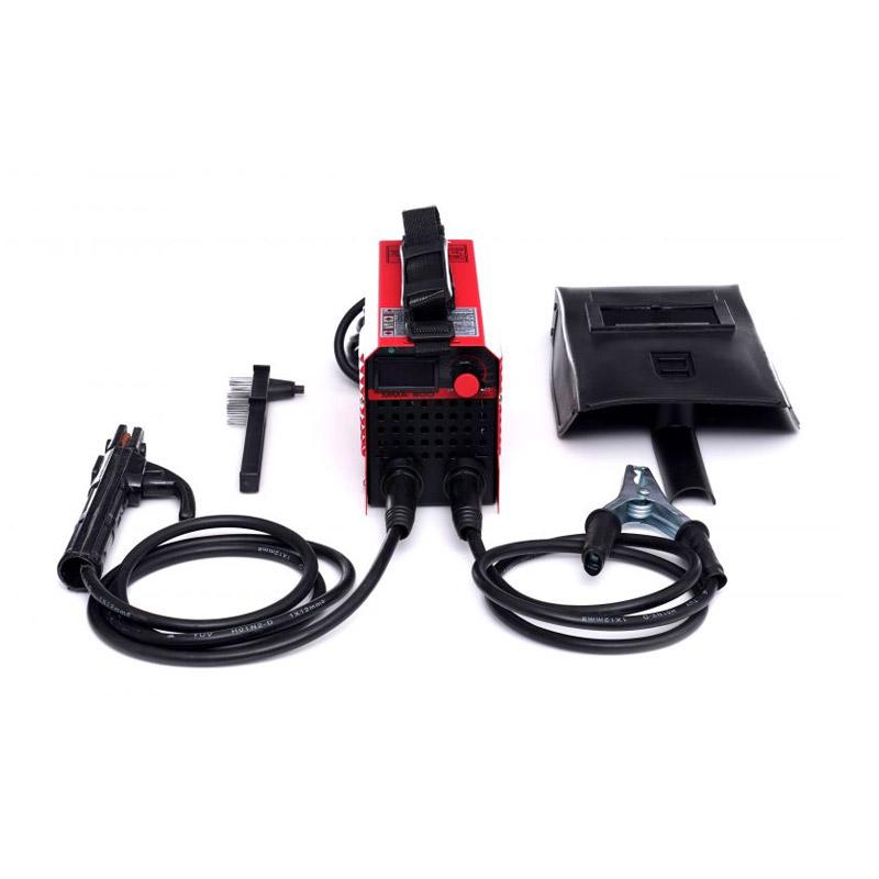 Ηλεκτροκόλληση Inverter IGBT PWM 300A 230V Χρώματος Κόκκινο Kraft&Dele KD-1864 - KD-1864