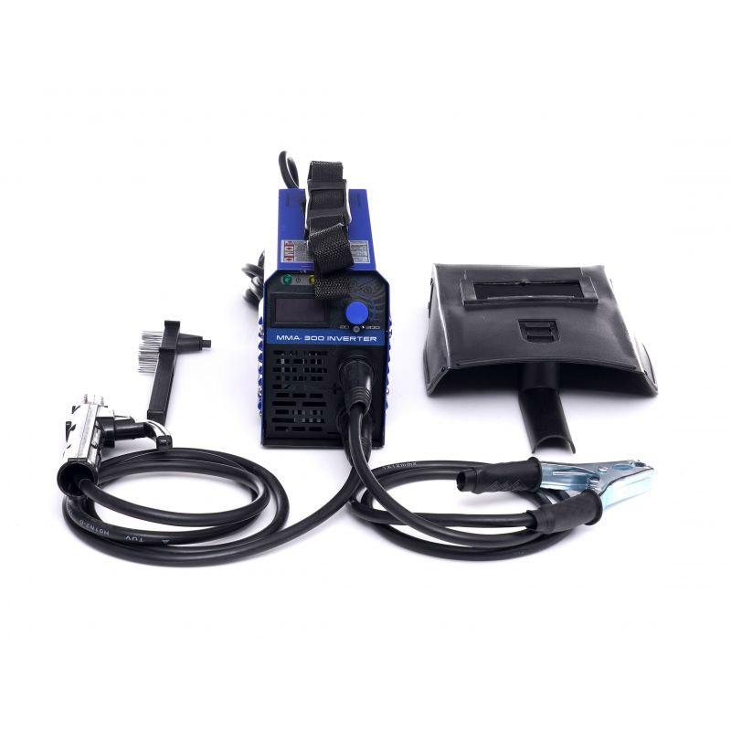 Ηλεκτροκόλληση Inverter IGBT PWM 300A 230V Χρώματος Μπλε Kraft&Dele KD-1865 - KD-1865