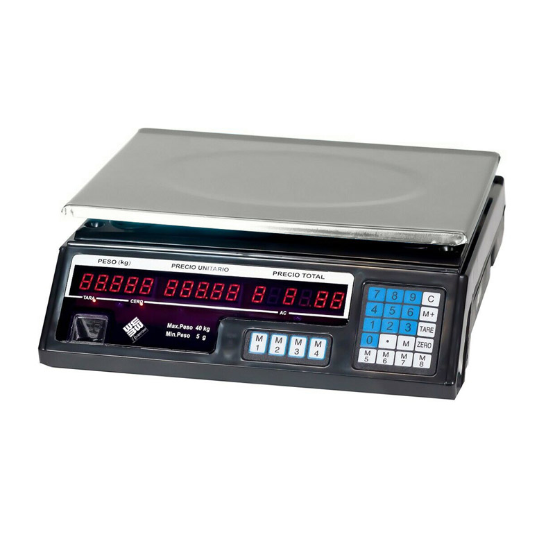 Επιτραπέζια Ηλεκτρονική Ψηφιακή Ζυγαριά 40 Kg GEM BN4753 - Gem BN4753