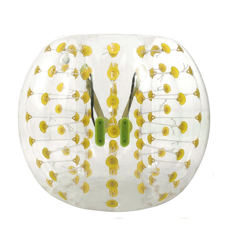 Φουσκωτή Στολή - Μπάλα για Bubble Football 150 cm MWS15274 - Media Wave MWS15274-Yellow