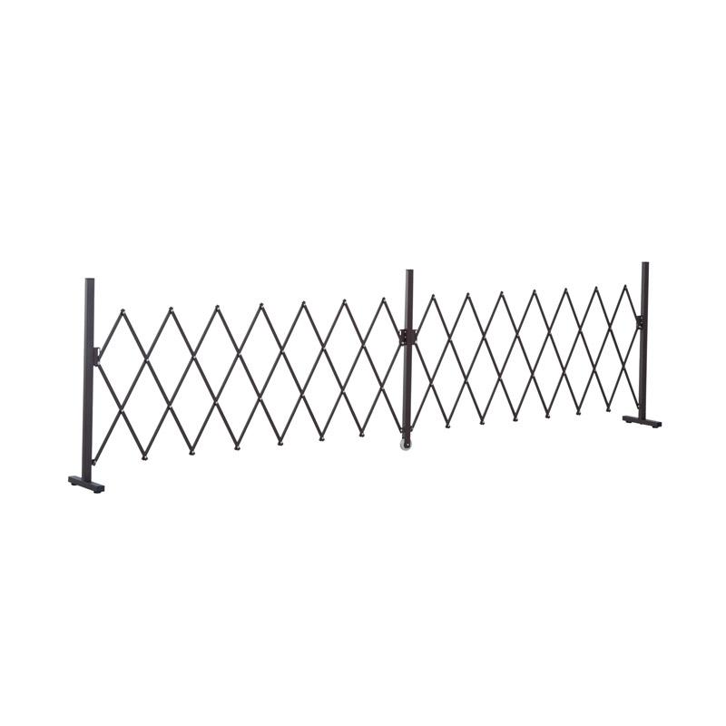 Μεταλλικός Πτυσσόμενος Φράχτης 405 x 31 x 103.5 cm Outsunny 844-139 - 844-139