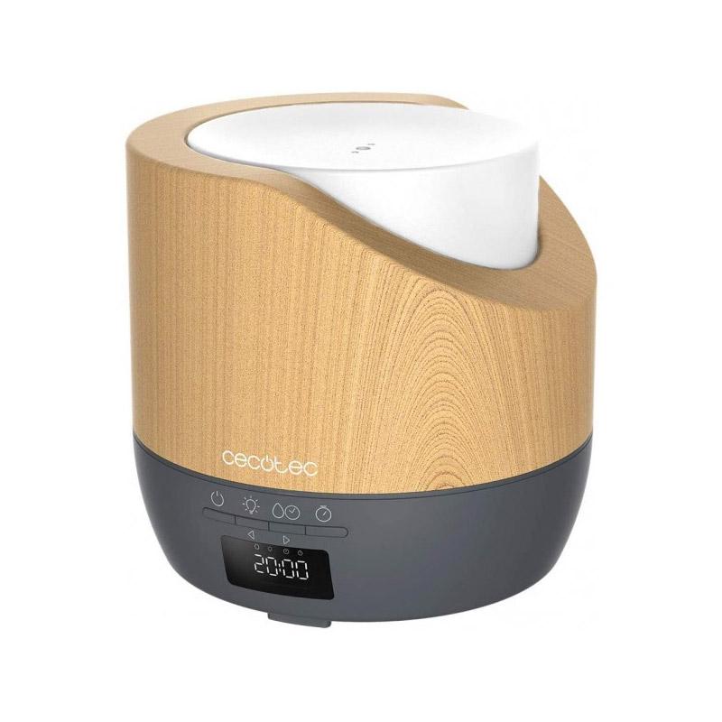 Ηλεκτρικός Διαχυτής Αρώματος και Υγραντήρας Cecotec Pure Aroma 500 Smart Grey Woody CEC-05640 - CEC-05640