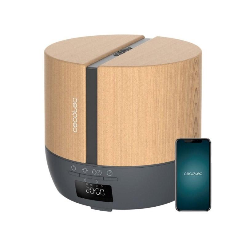 Ηλεκτρικός Διαχυτής Αρώματος και Υγραντήρας Cecotec Pure Aroma 550 Connected Grey Woody CEC-05648 - CEC-05648