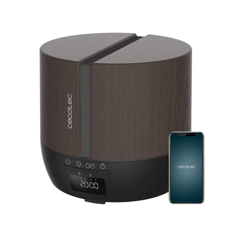 Ηλεκτρικός Διαχυτής Αρώματος και Υγραντήρας Cecotec Pure Aroma 550 Connected Black Woody CEC-05649 - CEC-05649