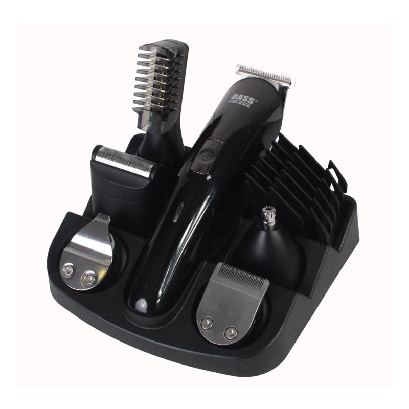 Σετ Επαναφορτιζόμενη Κουρευτική - Ξυριστική Μηχανή και Τρίμμερ Bass Polska BP-8581 - BP-8581