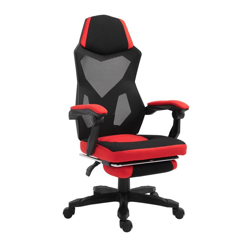 Καρέκλα Gaming με Υποπόδιο 58 x 72 x 108-118 cm Vinsetto 921-233 - 921-233