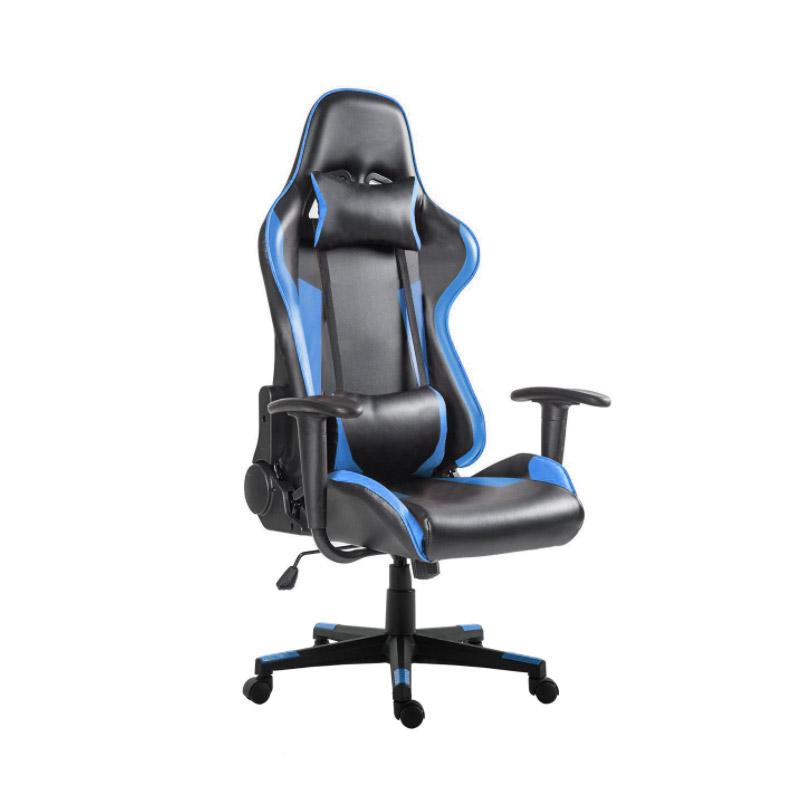 Καρέκλα Gaming Χρώματος Μπλε Hoppline HOP1000874-2 - HOP1000874-2