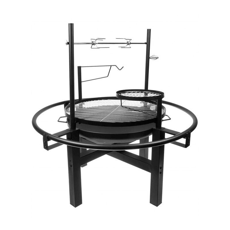 Τζάκι Εξωτερικού Χώρου και Ψησταριά - Μπάρμπεκιου με Κάρβουνο 5 σε 1 98  x 102 cm Kaminer 11827 - 11827