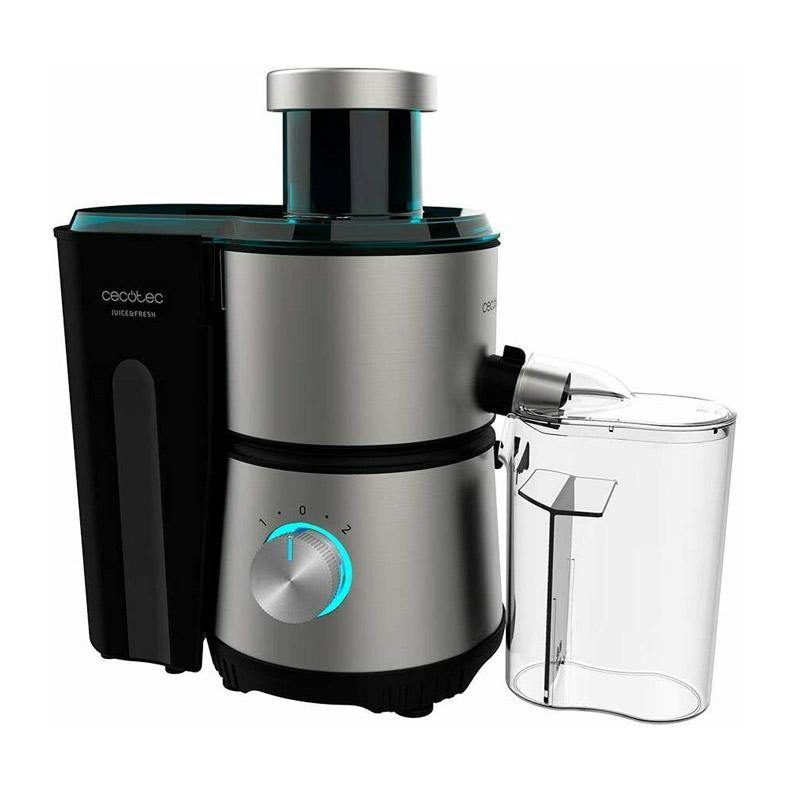 Αποχυμωτής Cecotec Juice & Fresh 400 W Titan Χρώματος Μαύρο CEC-04153 - CEC-04153