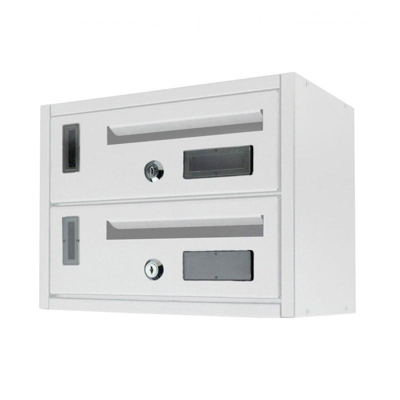 Μεταλλικό Γραμματοκιβώτιο 2 Θέσεων 23 x 18 x 30 cm MWS16048 - Media Wave MWS16048