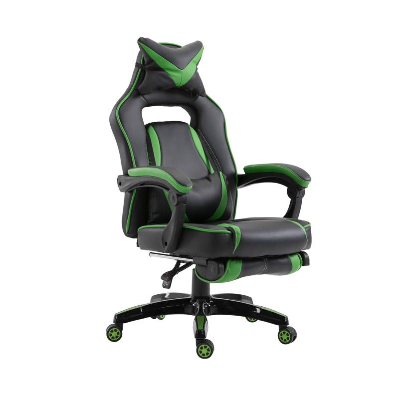 Καρέκλα Gaming με Υποπόδιο 71.5 x 68 x 114-123.5 cm Vinsetto 921-120GN - 921-120GN