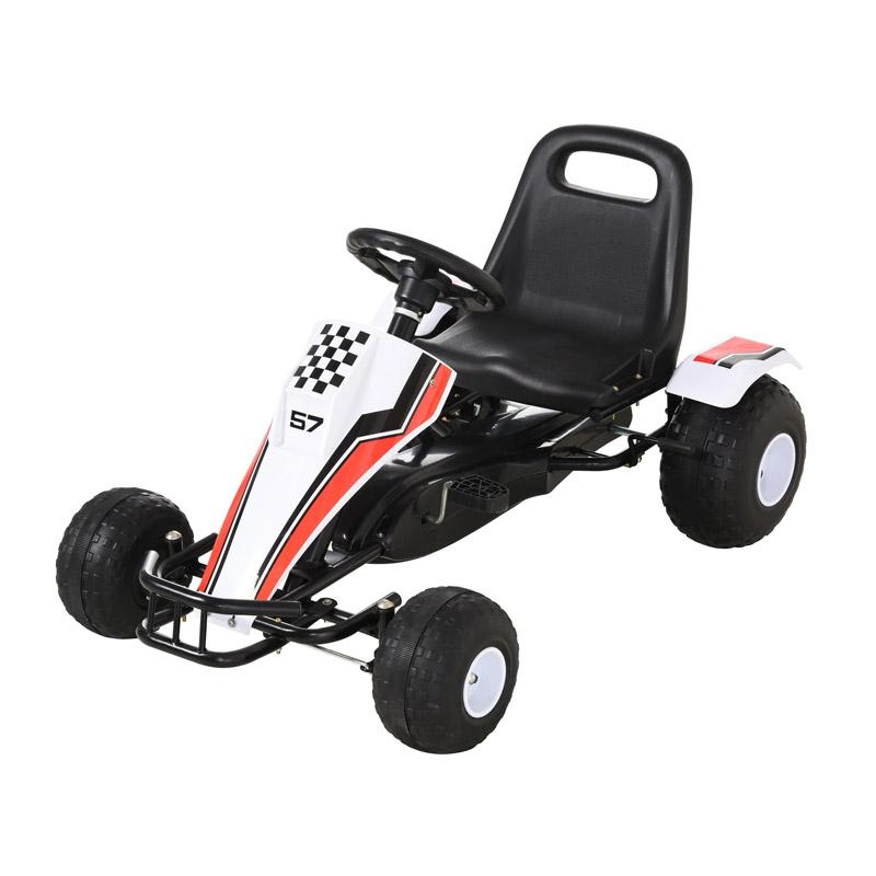 Παιδικό Αυτοκινητάκι Go Cart με Πεντάλ HOMCOM 341-036 - 341-036