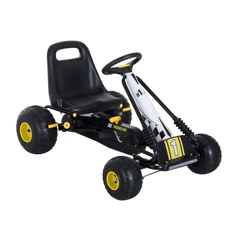 Παιδικό Αυτοκίνητο Go Kart με Πετάλια HOMCOM 341-020 - 341-020