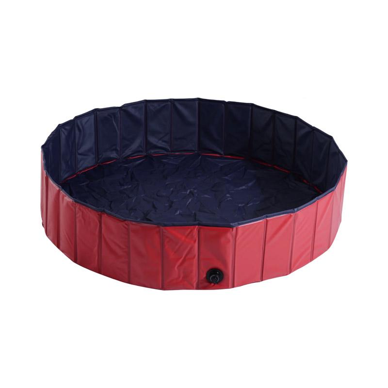 Αναδιπλούμενη Πισίνα για Κατοικίδια 140 x 30 cm PawHut D01-014RD - D01-014RD