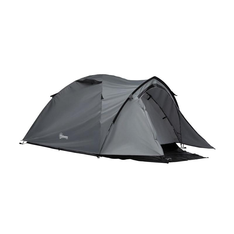 Σκηνή Camping 4 Ατόμων με Προθάλαμο 1000 mm 325 x 183 x 130 cm Outsunny A20-174 - A20-174