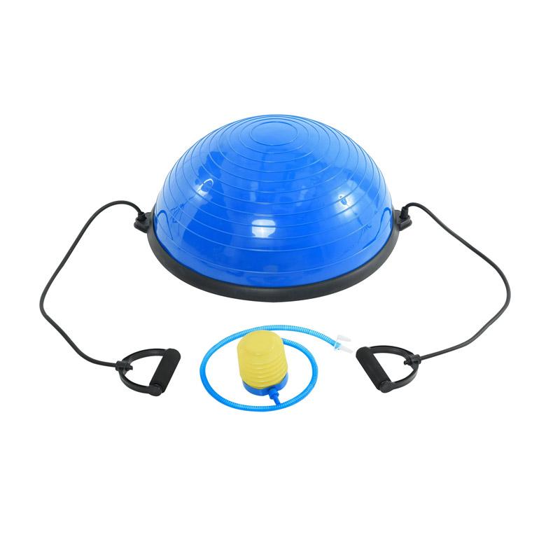 Μπάλα Ισορροπίας με Λάστιχα και Αντλία Αέρος 52 cm HOMCOM A94-001 - A94-001