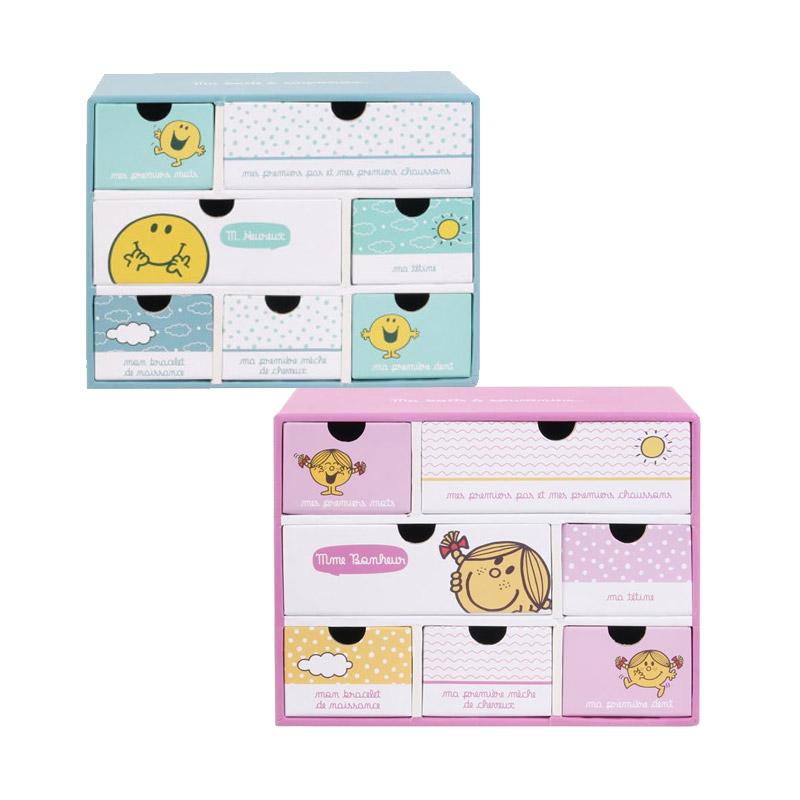 Χάρτινο Παιδικό Κουτί Αποθήκευσης με 7 Συρτάρια 19 x 9 x 15 cm Monsieur Madame MM3287 - MM3287