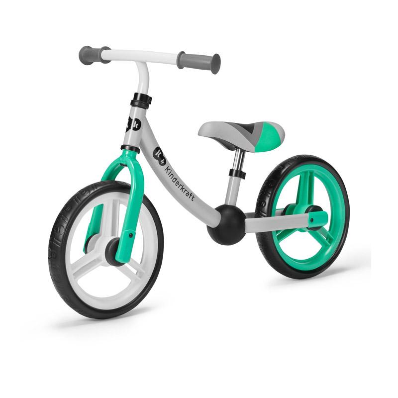 Παιδικό Ποδήλατο Ισορροπίας Kinderkraft 2Way Next Χρώματος Mint KR2WAY00GRE00000 - KinderKraft KR2WAY00GRE00000