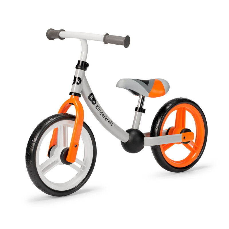 Παιδικό Ποδήλατο Ισορροπίας Kinderkraft 2Way Next Χρώματος Πορτοκαλί KR2WAY00ORA00000 - KinderKraft KR2WAY00ORA00000