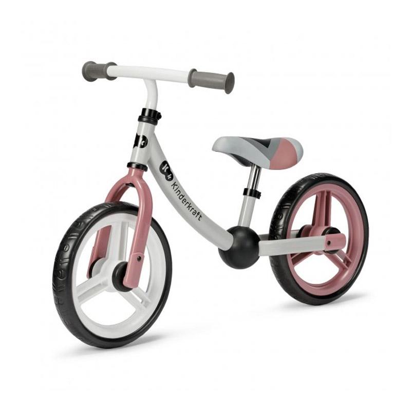Παιδικό Ποδήλατο Ισορροπίας Kinderkraft 2Way Next Χρώματος Ροζ KR2WAY00PNK00000 - KinderKraft KR2WAY00PNK00000
