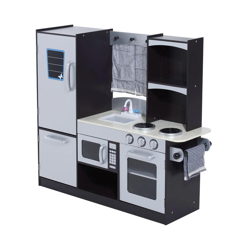 Ξύλινη Παιδική Κουζίνα 105 x 31.5 x 95 cm HOMCOM 350-004 - 350-004