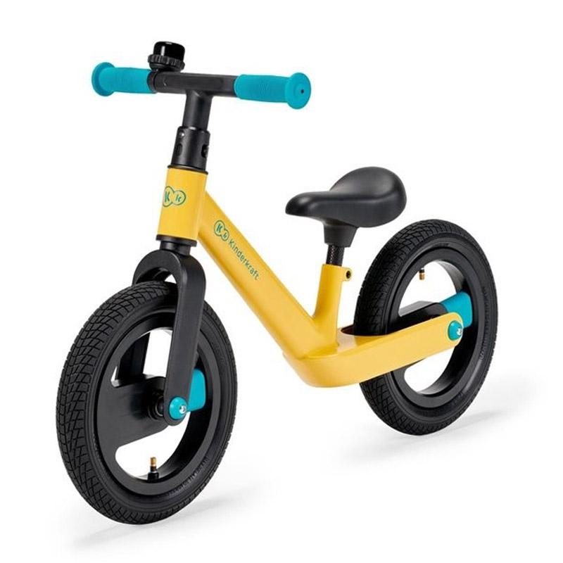 Παιδικό Ποδήλατο Ισορροπίας KinderKraft Goswift Χρώματος Κίτρινο KRGOSW00YEL0000 - KRGOSW00YEL0000