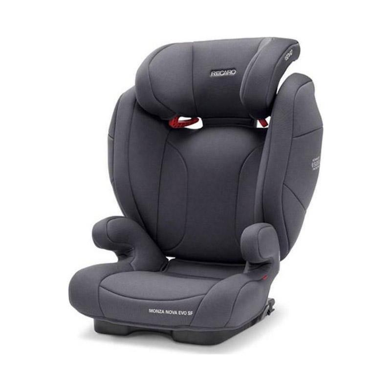Παιδικό Κάθισμα Αυτοκινήτου για Παιδιά 15-36 Kg Recaro Monza Nova Seatfix Evo Simply Χρώματος Γκρι 88012260050 - 88012260050