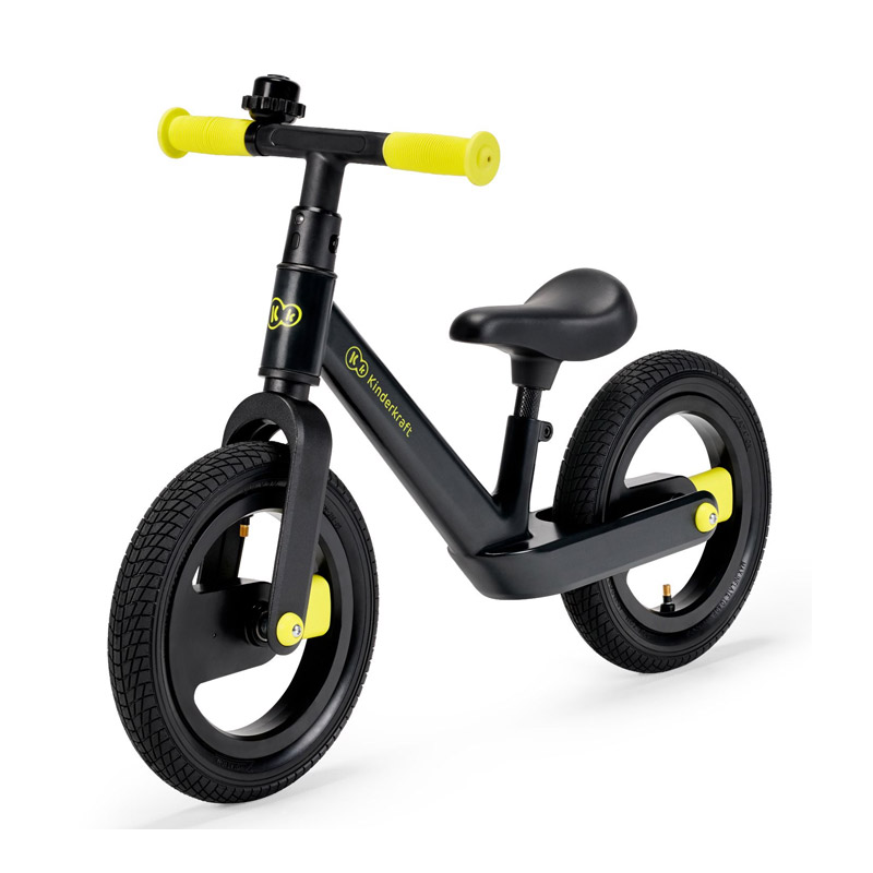 Παιδικό Ποδήλατο Ισορροπίας KinderKraft Goswift Χρώματος Μαύρο KRGOSW00BLK0000 - KRGOSW00BLK0000