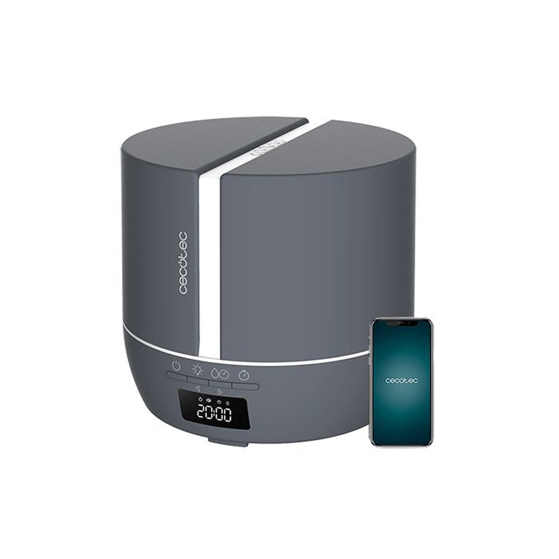 Ηλεκτρικός Διαχυτής Αρώματος και Υγραντήρας Cecotec Pure Aroma 550 Connected Stone CEC-05646 - CEC-05646
