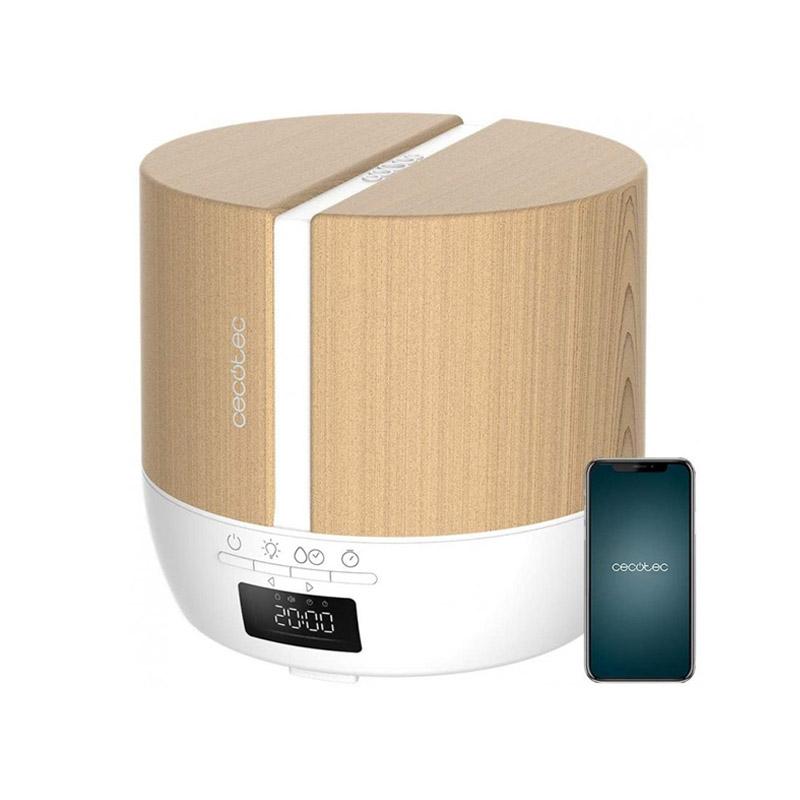 Ηλεκτρικός Διαχυτής Αρώματος και Υγραντήρας Cecotec Pure Aroma 550 Connected White Woody CEC-05647 - CEC-05647