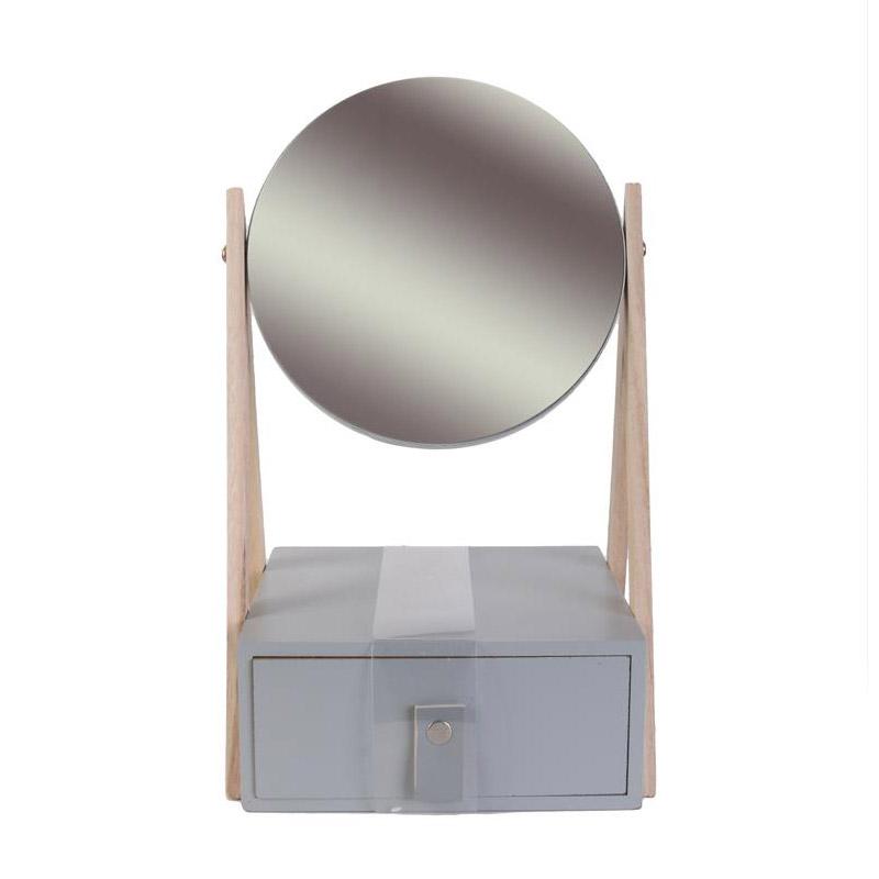 Ξύλινη Κοσμηματοθήκη - Μπιζουτιέρα με Καθρέπτη 29 x 16 x 17.5 cm Home Deco Factory HD2300 - HD2300
