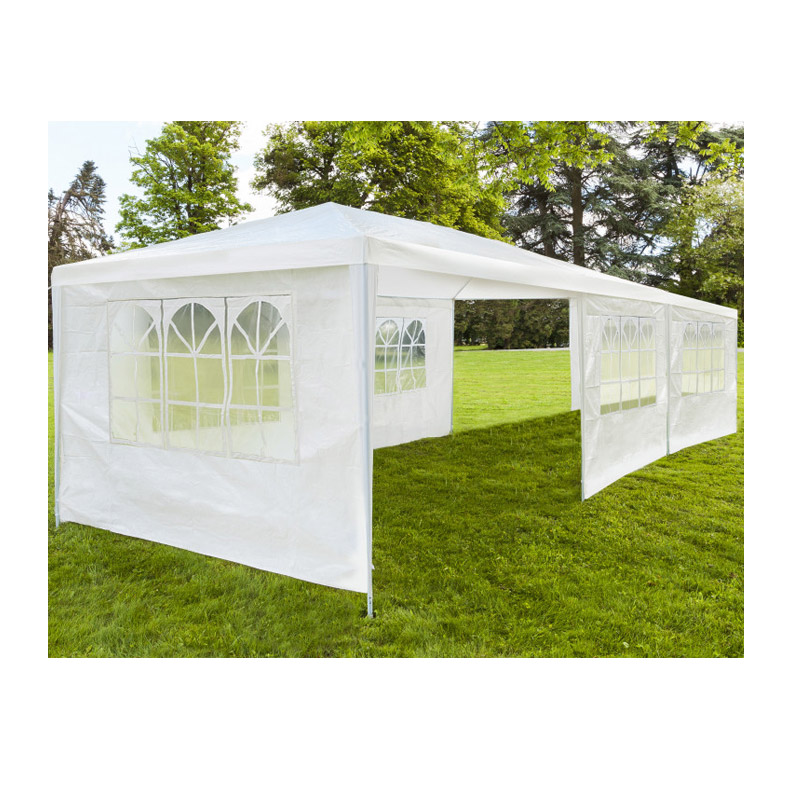 Κιόσκι Κήπου με Μεταλλικό Σκελετό και 6 Τοίχους 3 x 9 x 2.5 m Inkazen 40040174-1 - 40040174-1