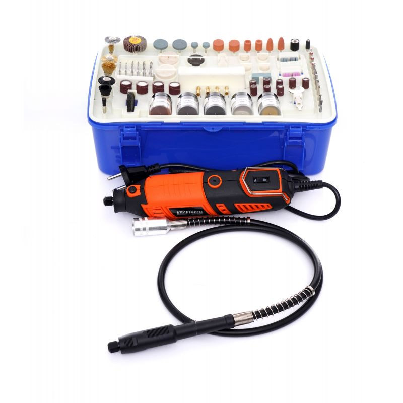 Mini Λειαντήρας 270 W με Θήκη και Αξεσουάρ Kraft&Dele ΚD-10751 - KD-10751
