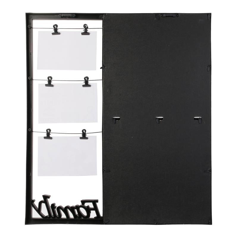 Πλαστική Κορνίζα 11 Θέσεων 53.8 x 2.2 x 48 cm Home Deco Factory HD4215 - HD4215
