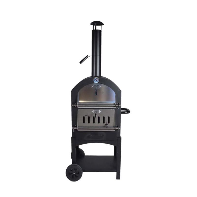 Φούρνος Πίτσας Εξωτερικού Χώρου με Κάρβουνο 156 x 50 x 36.5 cm Hoppline HOP1001161 - HOP1001161